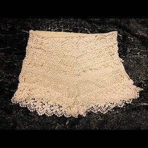 Kimchi Blue Crochet Shorts